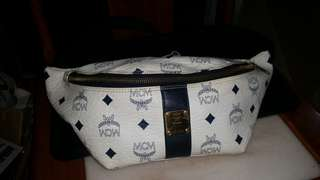 Authentic MCM waist bag