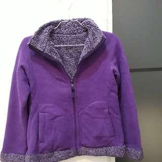 Reversible winter jacket / Jaket hangat bolak balik