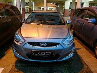 Hyundai Accent 4D 1.4 Auto CVT