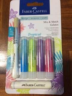 Faber-Castell Mix & Match Gelatos Crayon set