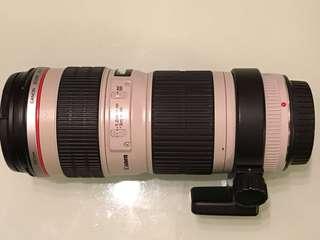 Canon 70-200 f4 non-is Lens