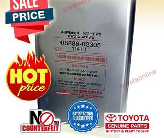 Toyota Original WS Oil ATF Auto Oil B