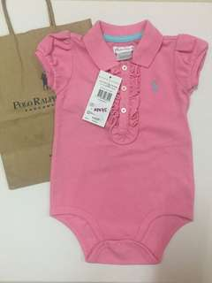 Baby bodies polo shirt by Ralph Lauren