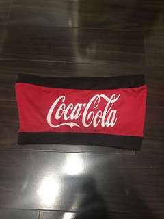 Coca Cola Tube Top