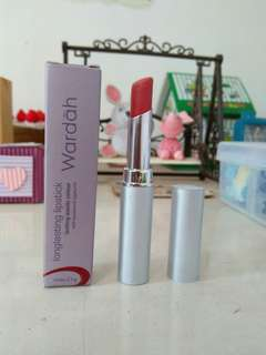 Wardah Longlasting Lipstick No.03: Simply Brown