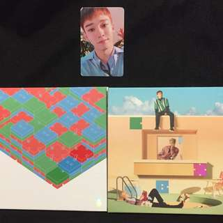 EXO CBX Blooming Days Album with Chen photocard