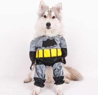 PET DOG/CAT FRONT COSTUME (Batman)