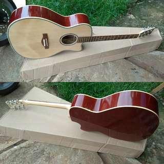 Gitar akustik lakewood custom high