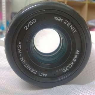 Zenitar M-2s MC rare vintage manual m42 Russian USSR 50mm f2 lens Carl Zeiss Biotar Helios for Canon Pentax Sony Fujifilm Olympus Panasonic Leica