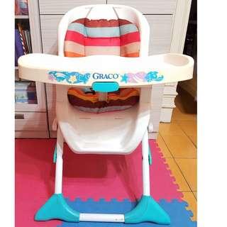 嬰幼兒多功能 餐桌椅 好收納型 穩固 誠可議