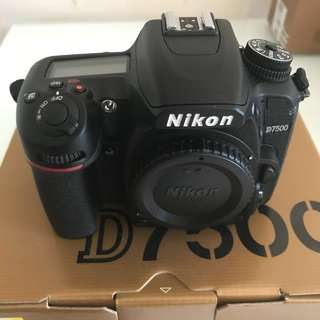 Nikon D7500 with Sigma DC 17-50mm F2.8 OS EX HSM llens