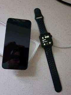 Apple iPhone x 64gb + iWatch
