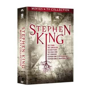 Stephen King 史提芬京: Movies & TV Collection DVD 2018 (包郵)