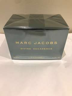 Marc Jacobs Divine Decadence 50ml eau de parfum authentic brand new in box