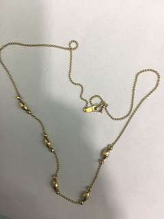 Pawnable 18k authentic Japan gold
