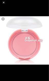 BN Etude House Lovely Cookie Blusher Grapefruit Jelly