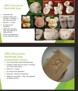 Breastmilk soap