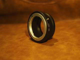 Sony NEX MD adapter