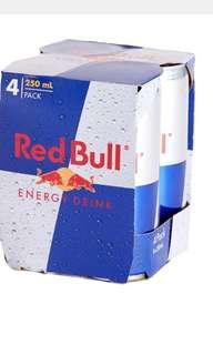 Red Bull x 4