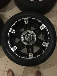 Jual second velg KMC XD Series R20 (cocok buat Pajero Sport, Fortuner, dll)