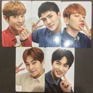 Selling EXO Let's Go ElyXiOn Photocards