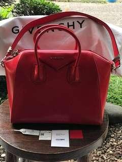 Givenchy Antigina Medium RED