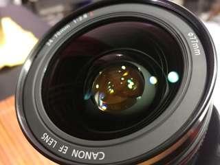 Price Drop! Slight Negotiable. Canon 24-70mm F2.8 USM MK1