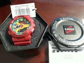 G-shock red authentic