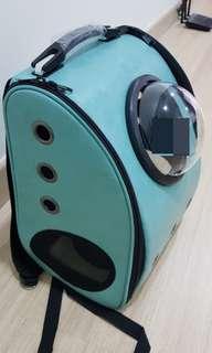 Pet Carrier L size (backpack+handcarry)+pet blanket