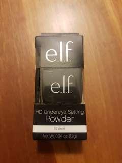 elf HD undereye setting powder (sheer)