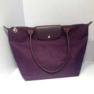Longchamp Large Size Neo 加厚款長帶 100%real 80%new