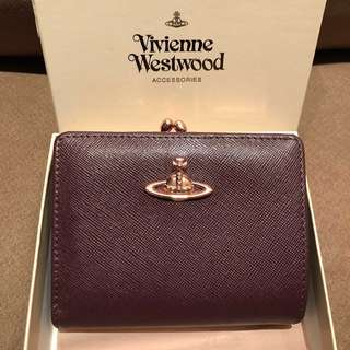 玫瑰金 Vivienne Westwood 銀包 Wallet coin pocket
