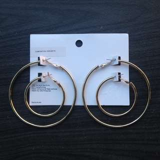 H&M Gold Hoop earrings