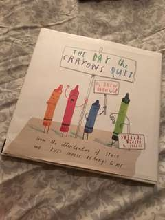 BN The Day the Crayons Quit (Hardcover)