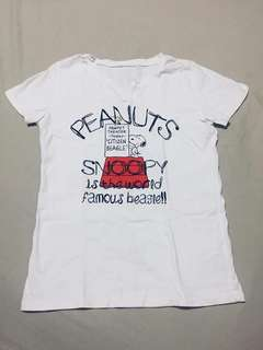 Snoopy Printed Shirt