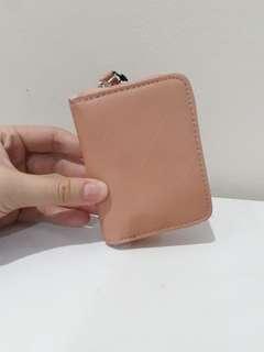 Russel wallet card peach