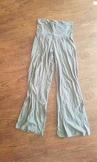 Grey Flowy Pants