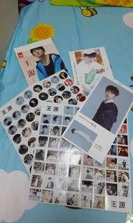 王源-有聲明信片180張附貼紙