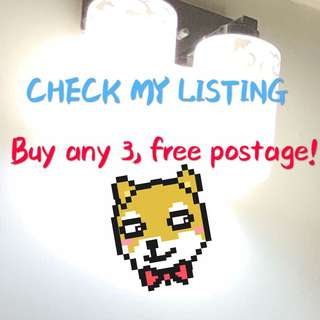 CHECK MY LISTING NOWWW