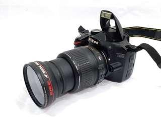 NIKON D3200 with AF-S NIKKOR 18-55mm VR Lens + Wide Angle MACRO Lens