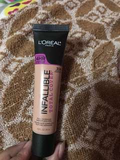 L'oreal Infallible Total Cover shade 304