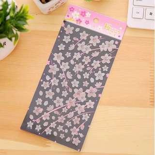 櫻花手帳貼紙