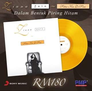 Ziana Zain - Setia Ku Disini (Orange Color) LP Vinyl Record Limited Edition (Pre-Order)