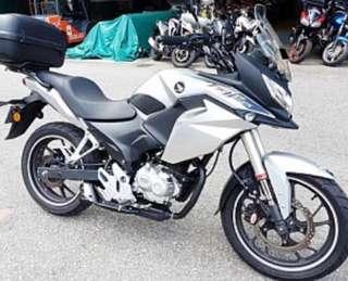 Honda CBF 190X FightHawk