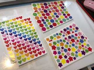 Colourful Sticker Sheet