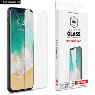 iPhone X TEMPERED GLASS SCREEN PROTECTOR - ITG PRO PLUS