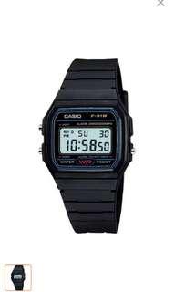 Casio Unisex Digital Resin Strap Watch F-91tW-1SDG AUTHENTIC