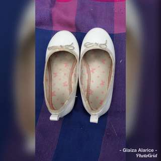 H&M White Doll Shoes
