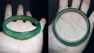 600 pesos off! Green Agate Bangle