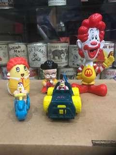 McD & KFC Toys